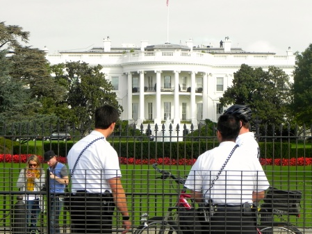 Look, at my great picture of The White House!